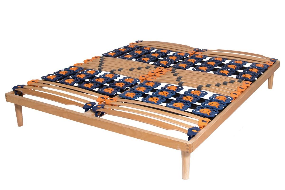 slatted bed base flora deluxe