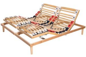 Electric Adjustable Slatted Bed Base Elastic