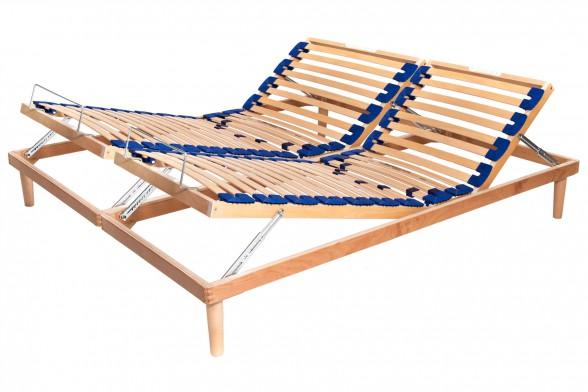 adjustable slatted bed base active