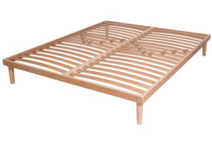 Double Row Slatted Bed Base Plane