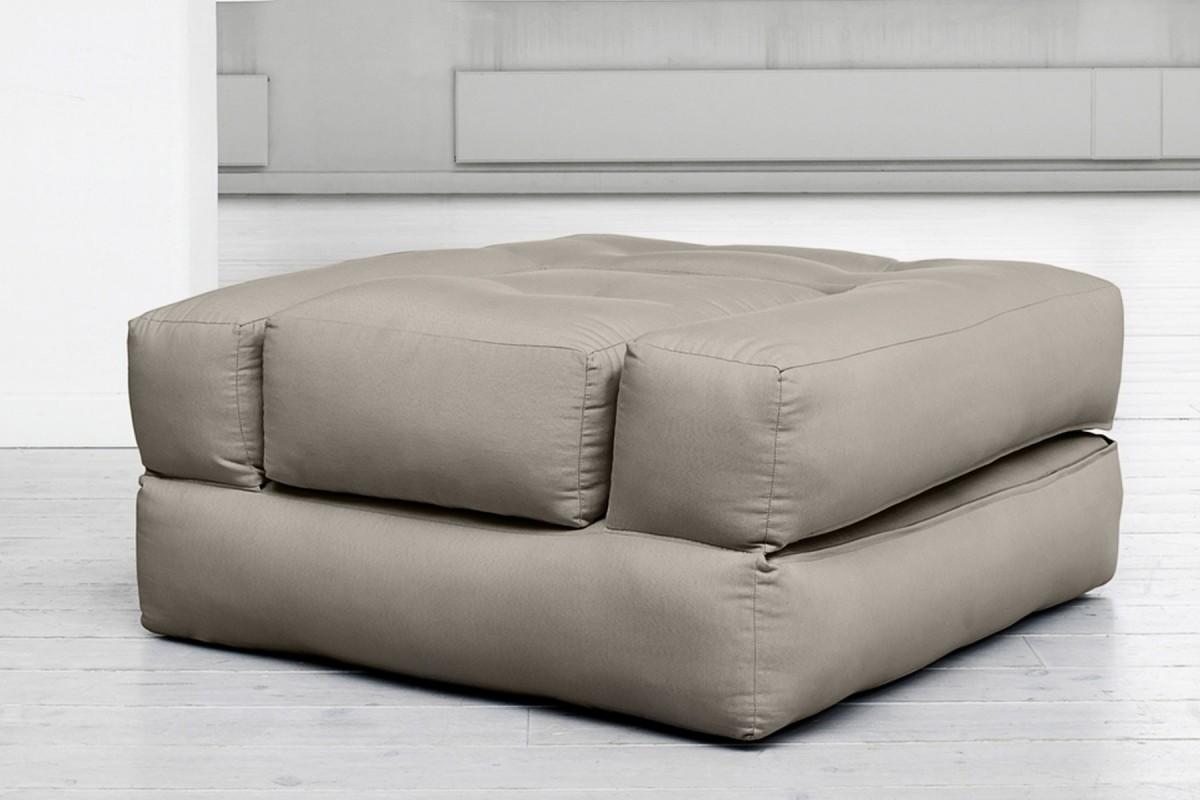 Poltrona letto cube un innovativo futon trasformabile
