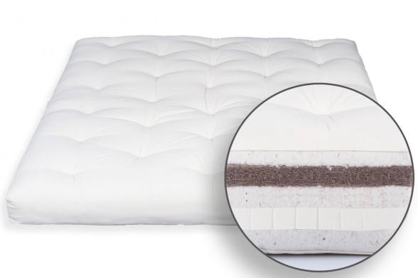 Futon Organic Cotton, Latex & Coconut