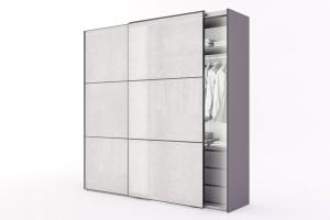 Wardrobe Noshiro with Rice Paper Sliding Doors