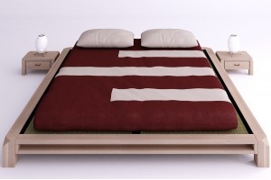 Aiko bed with tatami