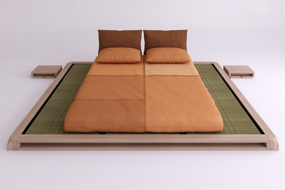 Aiko Low Bed with Tatami