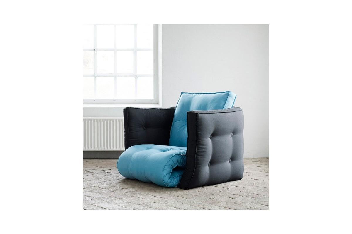 Schlafsessel dice ein wandlungsf higer futon - Bettsessel kinderzimmer ...