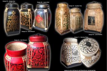 Vasi di Bambù