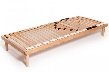 Single row slatted bed bases
