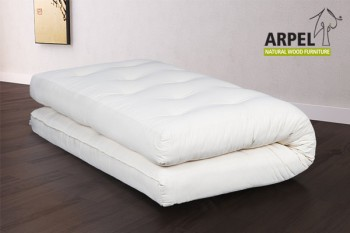 Futon in Organic Cotton & Memory Foam