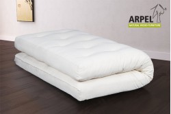 Futon in Cotton & Memory Foam