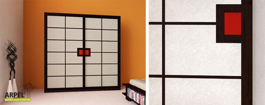 Come arredare la camera da letto con mobili bicolore foto - Crea la tua camera da letto ...