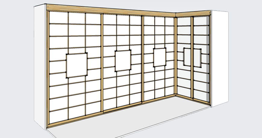 Progettazione e allestimento cabine armadio su misura foto for Costruendo una piccola cabina con soppalco