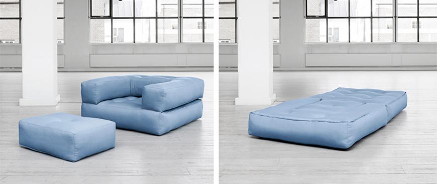 poltrone futon trasformabili