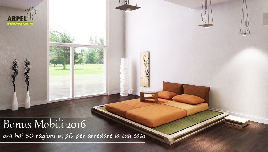 bonus mobili 2016 - Arpel