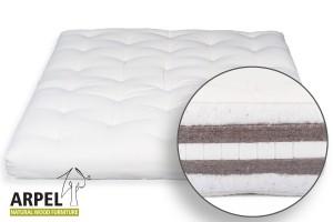 Futon cotone lattice e cocco