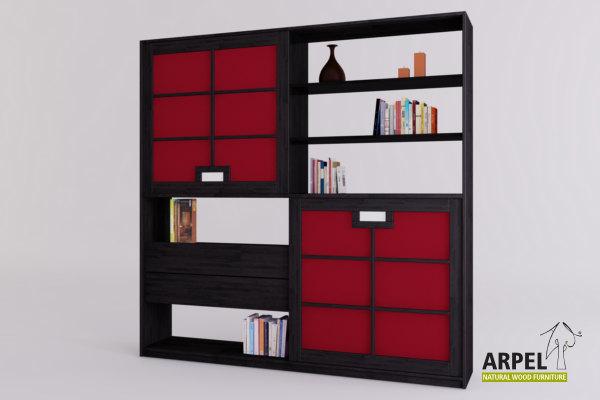 Soggiorni in stile giapponese vendita mobili giapponesi - Librerie mobili prezzi ...