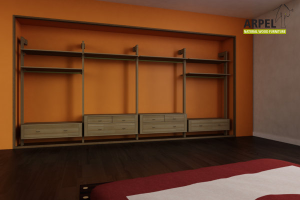 Cabine armadio giapponesi vendita mobili giapponesi - Interni per cabine armadio ...