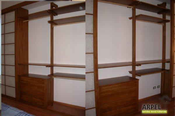 Cabine armadio giapponesi vendita mobili giapponesi for Interno armadio a muro