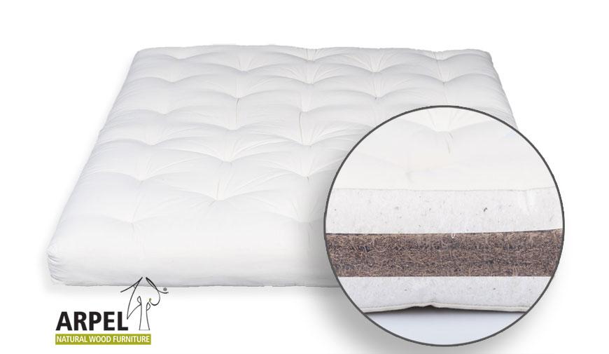futon cotone cocco