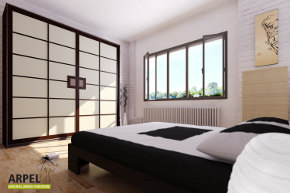Arpel arredamenti naturali in legno vendita mobili for Stanza giapponese