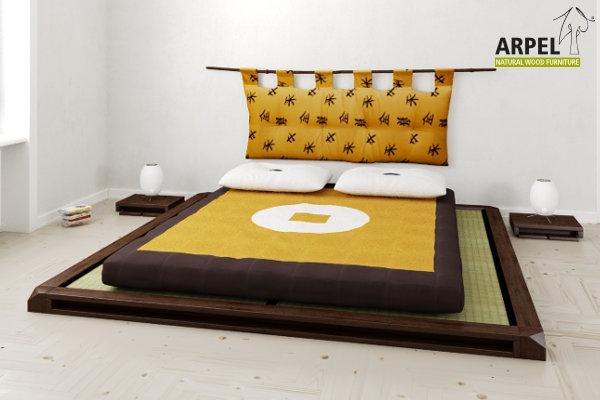 Camere da letto in legno stile giapponese - Vendita Mobili ...