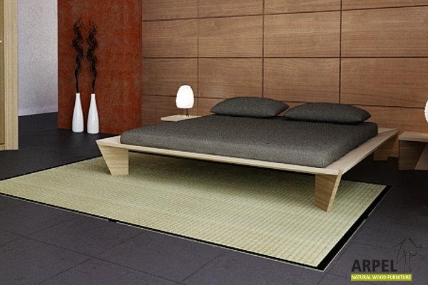 letti giapponesi design contenitori libreria a. Black Bedroom Furniture Sets. Home Design Ideas