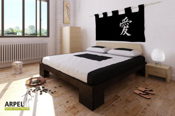 Camere da letto in legno stile giapponese vendita mobili for Camera da letto zen