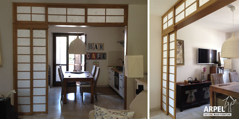 Pareti scorrevoli giapponesi vendita mobili giapponesi - Pareti divisorie mobili per abitazioni ...