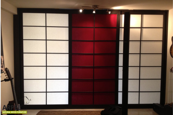 die t r ist der beginn der reise japanische schiebet ren. Black Bedroom Furniture Sets. Home Design Ideas