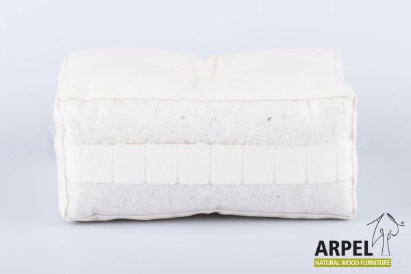 cotone biologico e lattice comfort