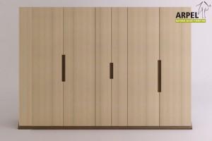 Origami wardrobe 6 doors