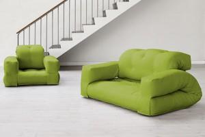 Hippo armchair bed