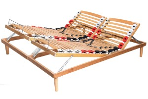 Adjustable Slatted Bed Base Elastic