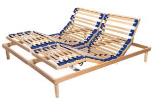 Electric Adjustable Slatted Bed Base Active