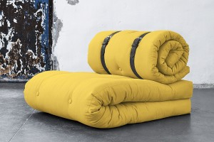 Buckle up sofa chair
