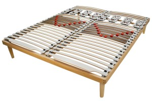 Double Row Slatted Bed Base Blossom