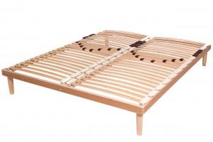 Double Row Slatted Bed Base Elite