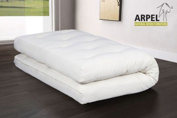 Futons with Virgin Wool, Latex & Coconut