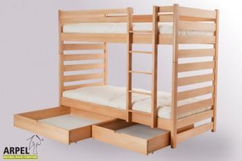 Letti Ecologici Per Bambini.Mobili Ecologici Per Camerette Da Bambini Arpel Natural Wood
