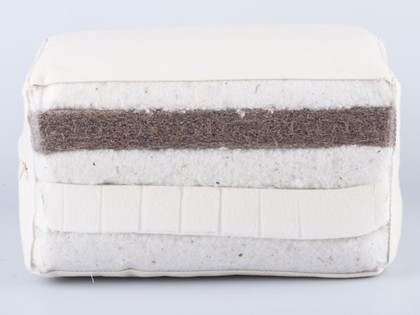 biological cotton, coconut & latex